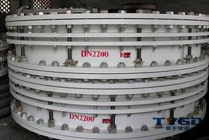 DN2200双法兰伸缩接头